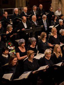 Sängerinnen und Sänger des Heinrich Schütz Chors